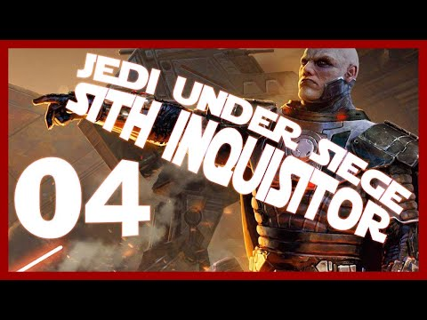 SWTOR Jedi Under Siege Gameplay Let's Play PC Part 4 (DARK SITH INQUISITOR)