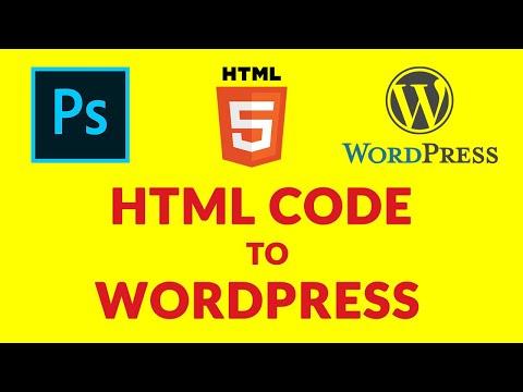 Convert An HTML Code Into WordPress Theme From Scratch | PSD To WordPress