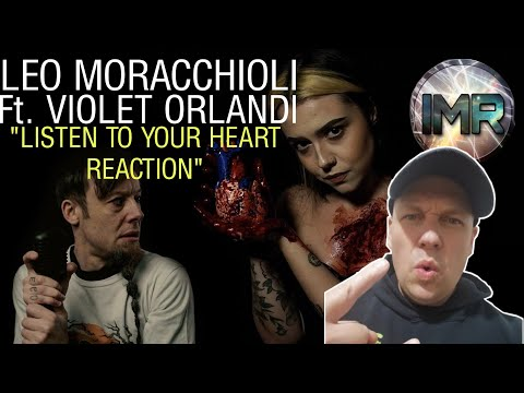 Leo Moracchioli Ft. Violet Orlandi - LISTEN TO YOUR HEART | FIRST TIME REACTION TO