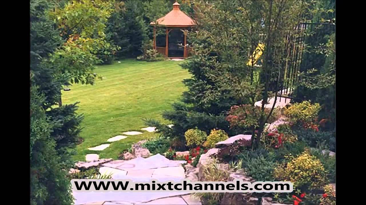 Jardin deco maison mixtchannels com youtube for Idee amenagement jardin 100m2