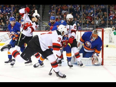 New Jersey Devils vs New York Islanders - January 16, 2018 | Game Highlights | NHL 2017/18