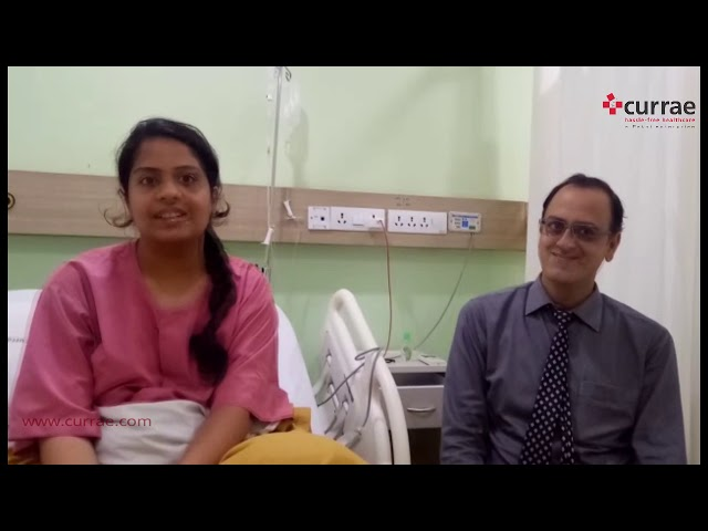 Pt. Sampada Prani - Balloon Sinuplasty done by Dr  Lokesh Bhama | ENT Surgeon | Currae Hospitals