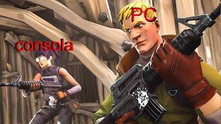 PC VS CONSOLAS FORTNITE