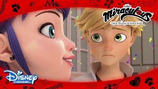 Mucize: Uğur Böceği ile Kara Kedi | Adrien'dan Marinette'e Büyük Ders! | Disney Channel TR