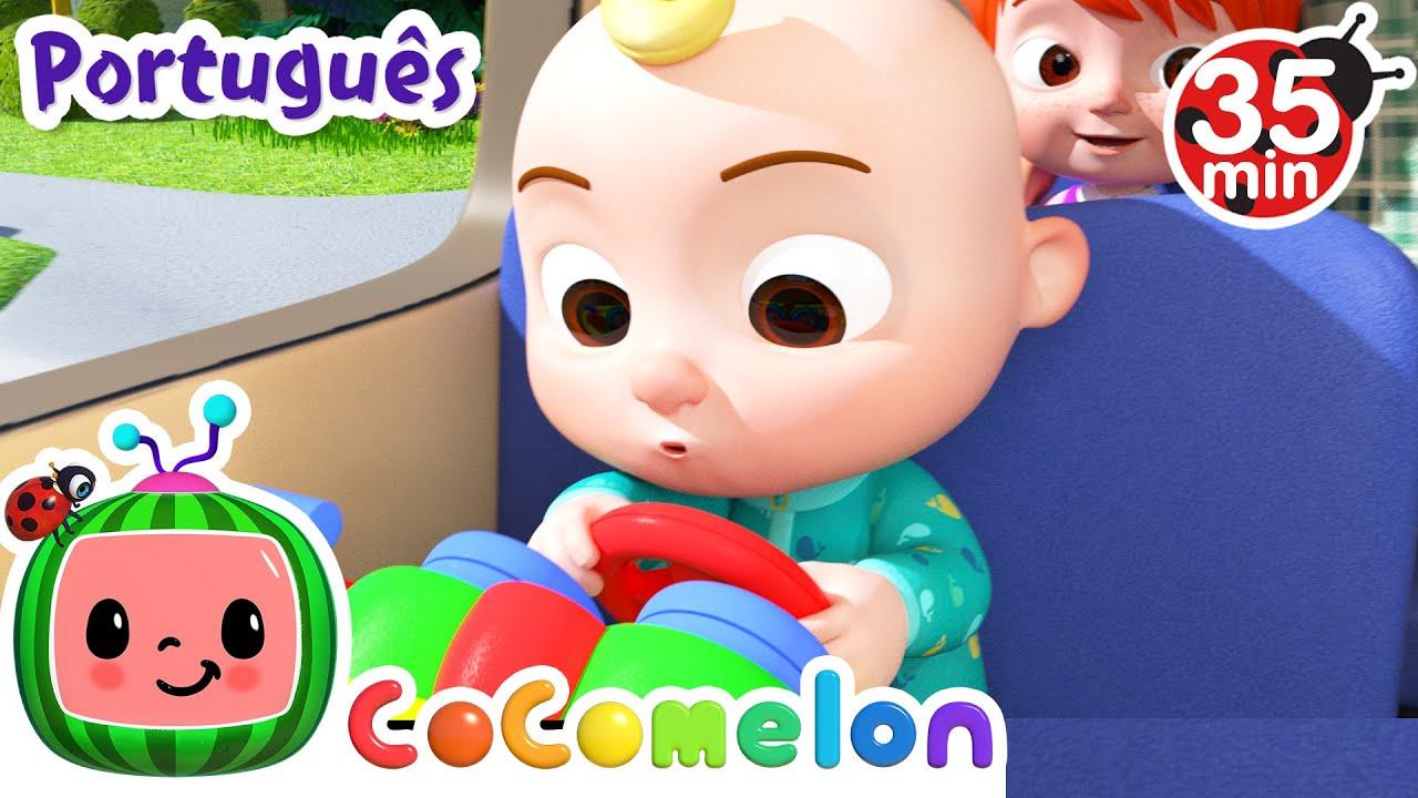 CoComelon em Português | As rodas do ônibus | Músicas Infantis | Compilação de Desenhos Animados
