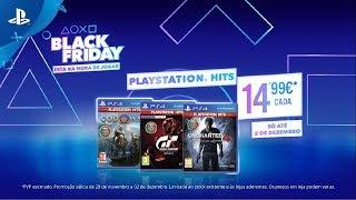 Black Friday PlayStation | PlayStation Hits por apenas 14,99€ cada, só até 02 de dezembro! | PS4