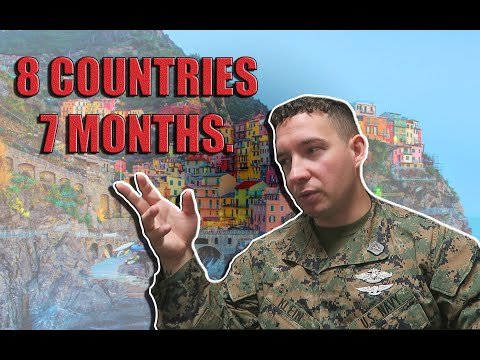 How To Travel The MOST In The US NAVY / Marine Corps *INSIDE LOOK*