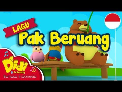 Lagu Anak-Anak Indonesia | Didi & Friends | Pak Beruang