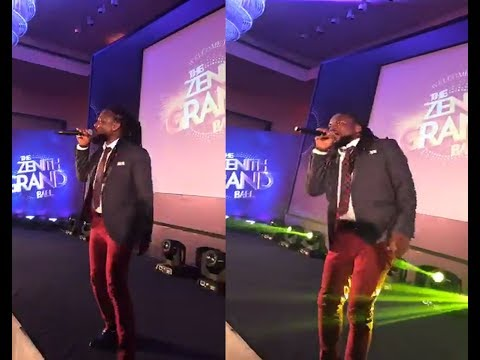 Samini's performance at Zenith Bank Ghana Grand Ball 2017