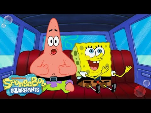 The Road Trip Song! 🚗 #TuesdayTunes | SpongeBob