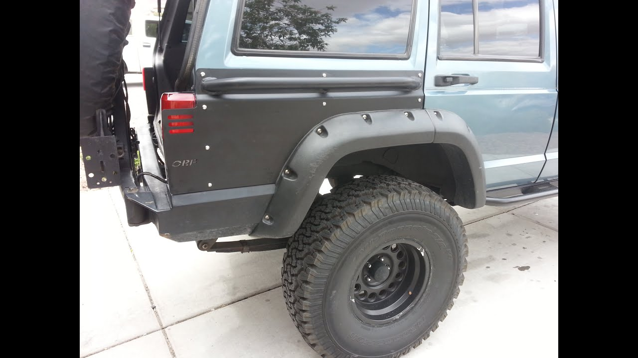 installing or fab quarter panel guards on a jeep cherokee xj youtube 1196 Jeep Cherokee Dash Wiring jeep panel wiring Jeep Liberty Wiring Harness Diagram 2000 Jeep Grand Cherokee Stereo Wiring Willys Jeep Wiring Diagram