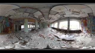 Чернобыль. Зона отчуждения  панорамное видео 360 °