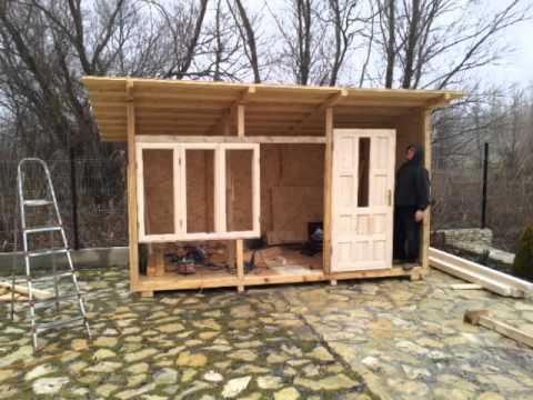 Cabanute din lemn de orice dimensiuni youtube for Modele de balcon din lemn