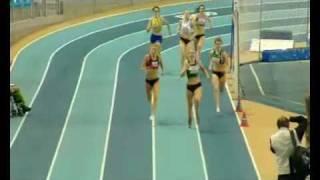 Axelle en Wendy BK Indoor 400m Finale