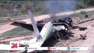 Đề nghị truy thăng quân hàm cho hai phi công hy sinh tại Khánh Hòa   VTV24