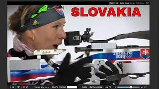 SLOVAKIA-ANASTASIYA KUZMINA GOLD IN SOCHI 2014 OLYMPICS