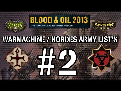 BLOOD & OIL 2013 - ARMY LIST'S #2