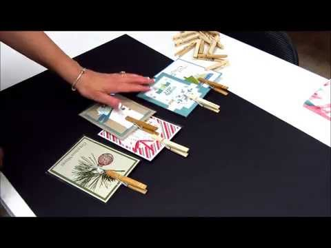 Learn how to make a clothespin display board for greeting cards learn how to make a clothespin display board for greeting cards m4hsunfo