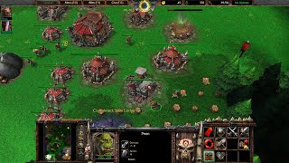 Warcraft 3 Reforged Beta Gameplay, Orc vs Human, 1080p60, Max Settings Video