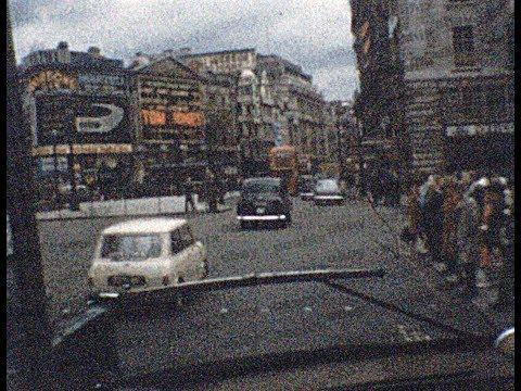 Vintage 1964 8mm Film Home Movie - Bus Tour - LONDON, BELGIUM, SWITZERLAND etc