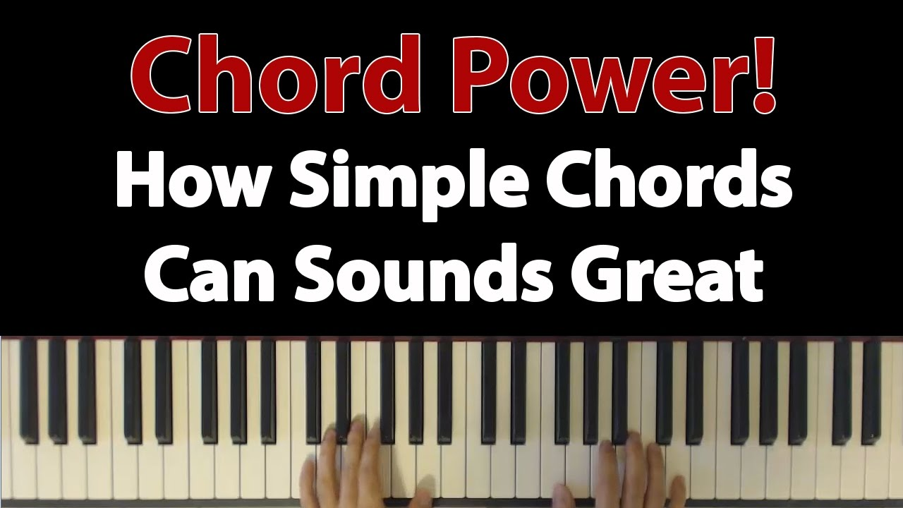 Chord power how to make simple chords sound amazing by stacking chord power how to make simple chords sound amazing by stacking youtube hexwebz Images