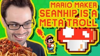 Mario Maker - Moving Parts and Bottom Out   One-Screen Puzzles by SeanHip #14