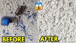 How to Remove Nail Polish from Carpet (In 2 Easy Steps!)