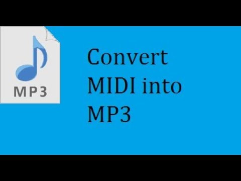 How to convert any file into MIDI for FL Studio 2018