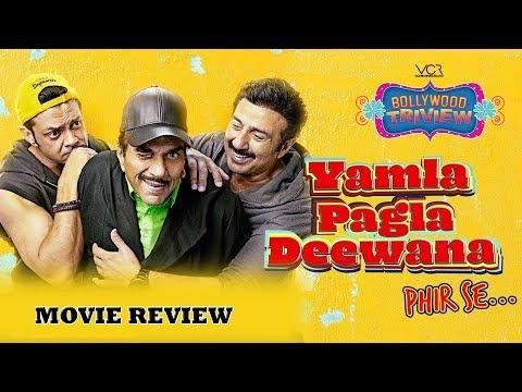 YAMLA PAGLA DEEWANA phir se movie review by Bollywood Triview