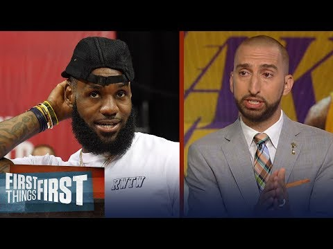 Nick Wright on why you shouldn't underestimated LeBron's Lakers | NBA | FIRST THINGS FIRST