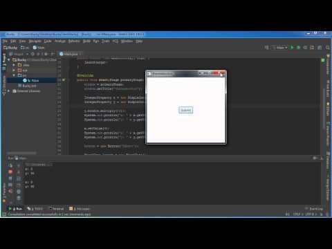 JavaFX Java GUI Tutorial - 29 - Binding