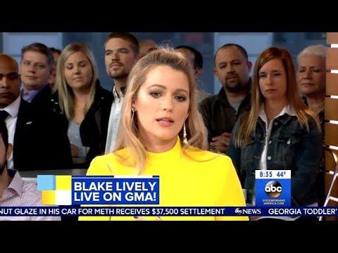 Blake Lively - Talks About Harvey Weinstein - GMA
