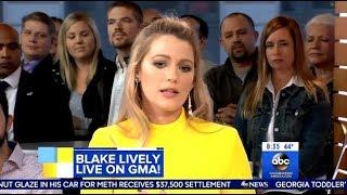 Blake Lively - Talks About Harvey Weinstein - GMA by : CelebNews17