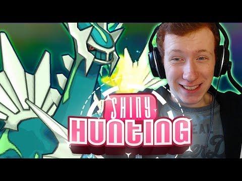 HEART ATTACK - SHINY DIALGA REACTION - Pokemon Ultra Sun & Moon - Shiny Reaction #132!