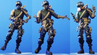 NEW Supersonice Falcon Skin Showcase With All Fortnite Dances & Emotes