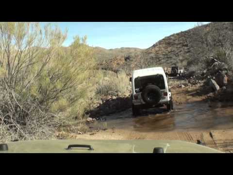 Off Road Run to Table Top Mesa  Arizona