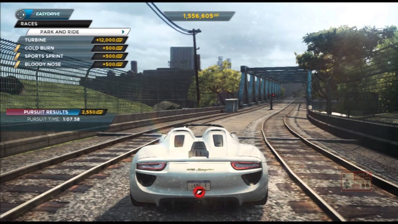 need for speed most wanted 2012 part 35 porsche 918. Black Bedroom Furniture Sets. Home Design Ideas