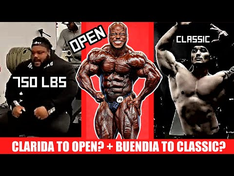 Julius Maddox Smashes 750lbs + Shaun Clarida to Open BB + Jeremey Buendia to Classic Physique +MORE