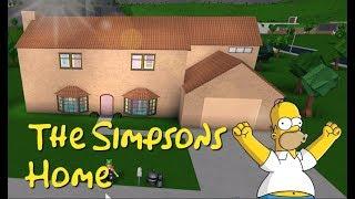 ROBLOX   Bloxburg: Die Simpsons Home Speedbuild