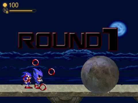 M.U.G.E.N: When Sonic and Dark Spawn join forces.