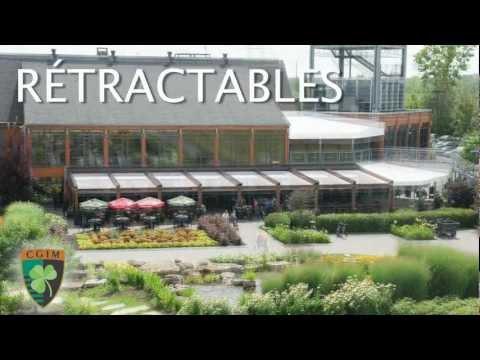 La terrasse du Club de golf de l'île de Montréal