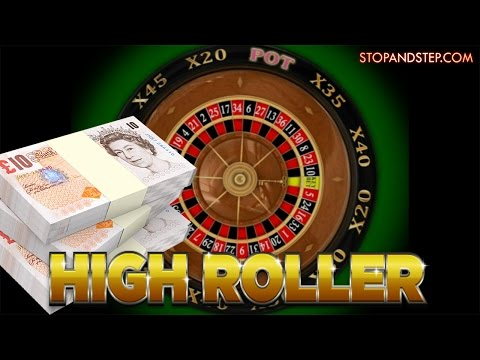 High Roller Roulette CRAZY STAKES with REAL MONEY