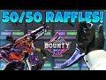 50/50 KNIFE RAFFLES & ROULETTE BETTING! (CS:GO BOUNTY)