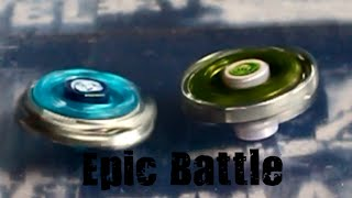 Crazy Beyblade Battle! Fang Leone 130W2D vs Omega Dragonis DF105WF! Must Watch!