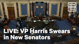 Vice President Kamala Harris Swears In New Senators | LIVE | NowThis