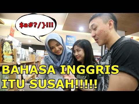 NGAKAK BANGET! NGETES BAHASA INGGRIS ORANG INDO! - Prank Indonesia