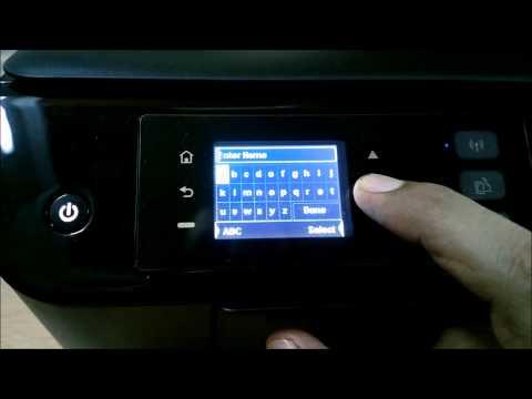 HP 3545 Ink Advantage Printer - Wireless Setup