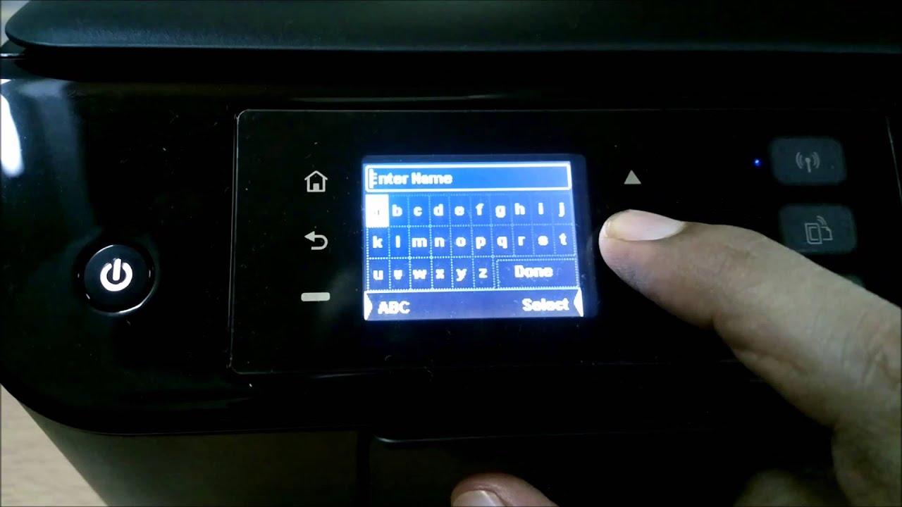 Hp 3545 Ink Advantage Printer Wireless Setup Youtube