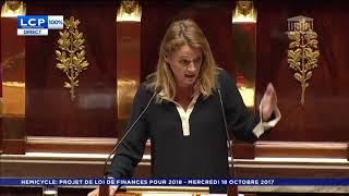 Olivia Grégoire - Assemblée Nationale - 18/10/2017