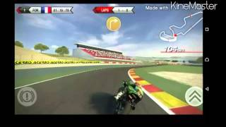 SBK 2014 game play